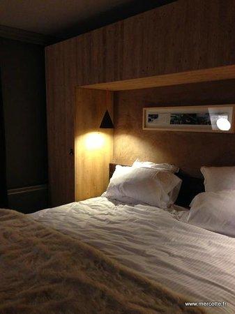 Hotel Le Val Thorens: Vue de la chambre