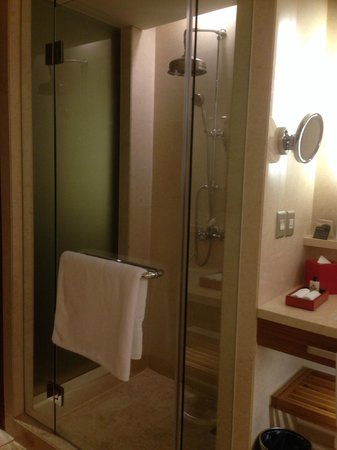 InterContinental Saigon Hotel: View of the shower