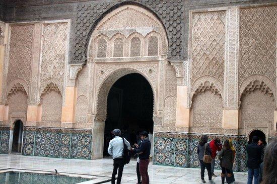 Ali Ben Youssef Medersa (Madrasa) : Sculptures