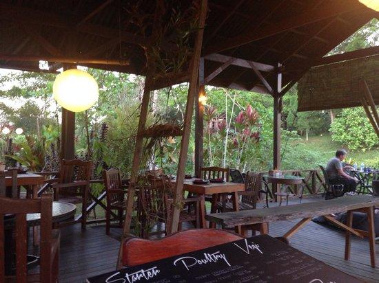 Sepilok Forest Edge Resort: Nest restaurant