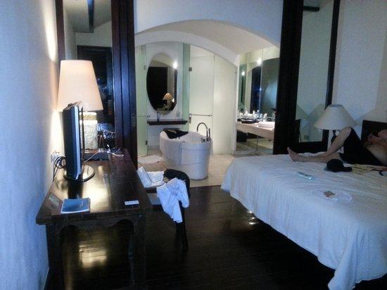 Novotel Bali Benoa : Tropical terrace room
