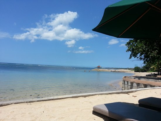 Novotel Bali Benoa : Beach view