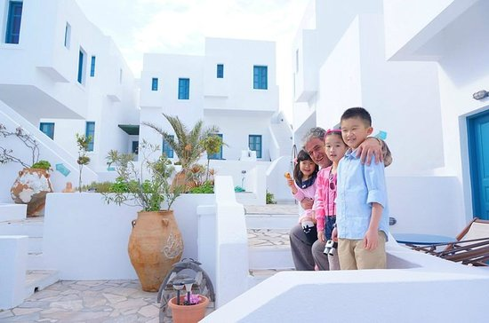 Oia's Sunset Apartments: Beautiful day!