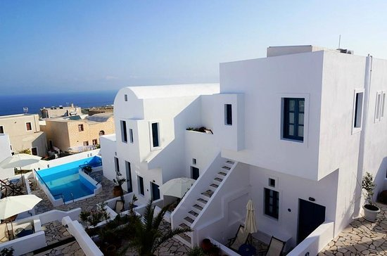 Oia's Sunset Apartments: Fortunate