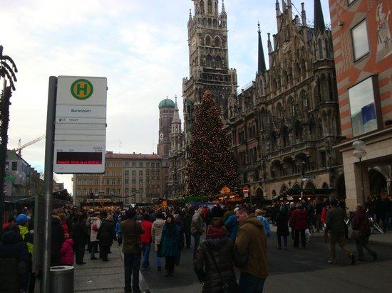Marienplatz: это и есть плац