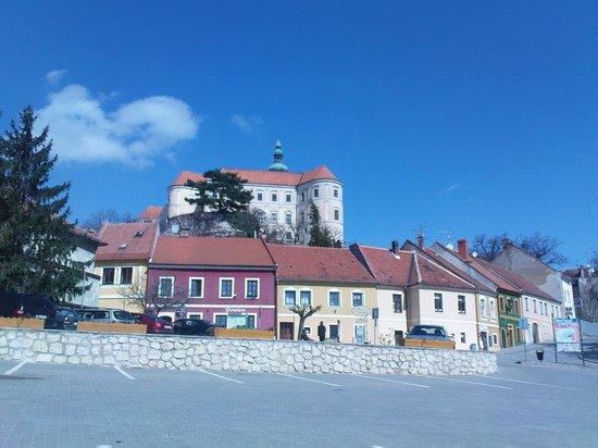 Eliska Hotel: room with castle view