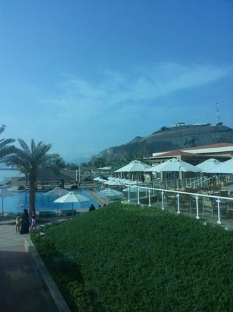 Oceanic Khorfakkan Resort & Spa: Pool view
