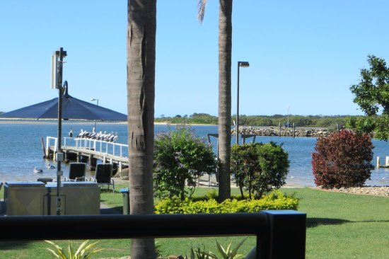Moby Dick Waterfront Resort Motel: Our view
