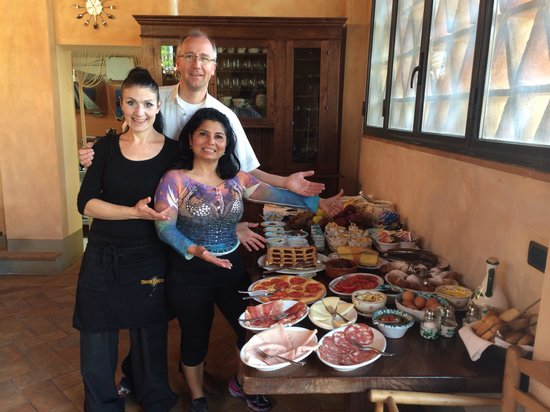 Villa Palagetto: Great breakfast