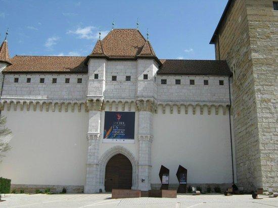 Musée-Château d'Annecy : Enrance
