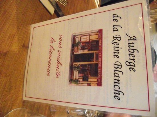 Auberge de la Reine Blanche: Where we were