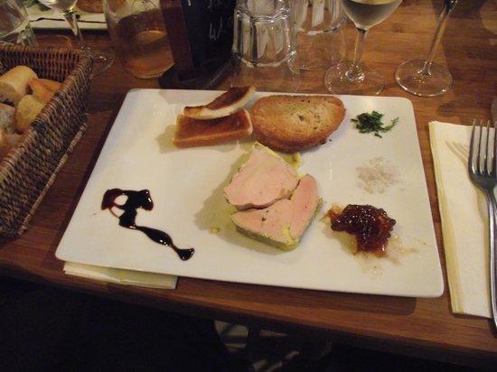 Auberge de la Reine Blanche: Very good food