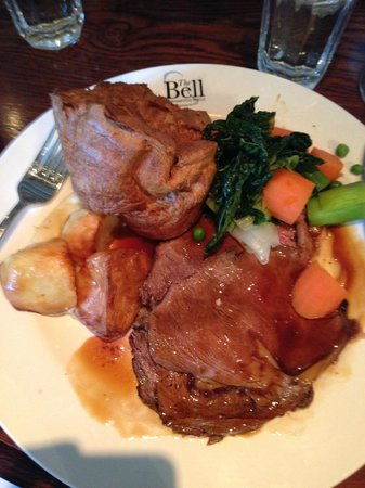 The Bell at Hampton Poyle: Roast Beef