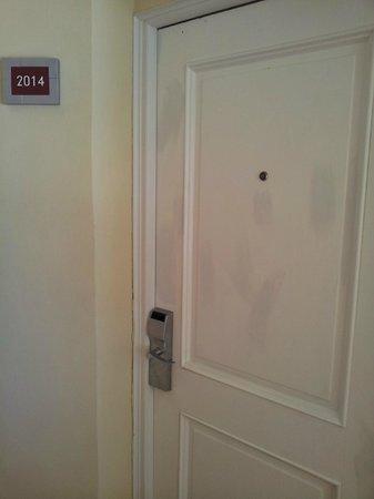 Paradisus Punta Cana Resort: дверь в номер;) стреляли?:)))
