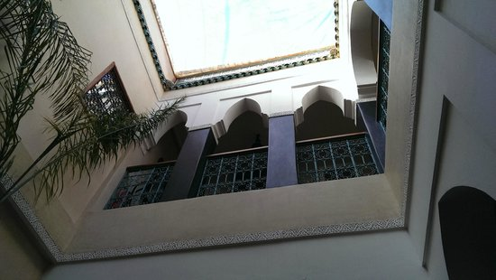 riad bianca : vew from patio