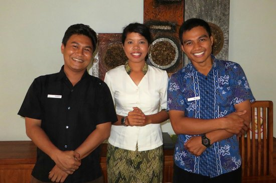 Living Asia Resort and Spa Lombok : Helpful Staff