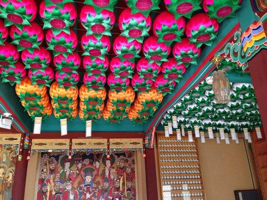Bukhansan National Park: Inside temple peoples wills