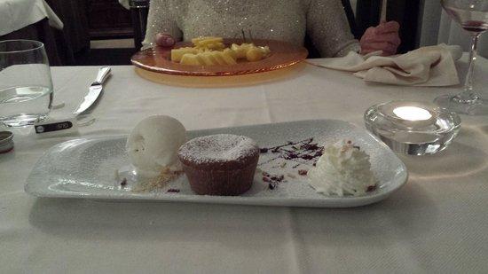 la bastiglia: il magnifico tortino al cioccolato