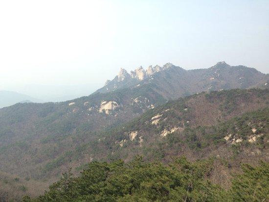 Bukhansan National Park: Mountain