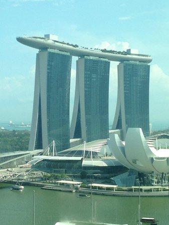 Mandarin Oriental, Singapore: Aussicht aus dem Hotelfenster