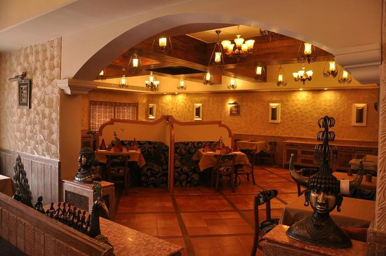 Hotel ANS International: KASBA VEGETARIAN RESTAURANT
