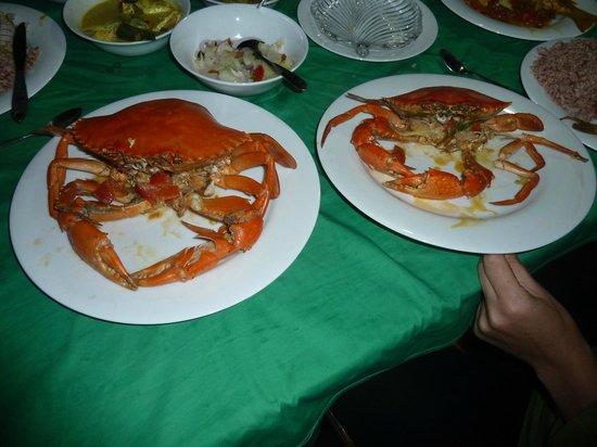 Coconut Island Cabanas and Restaurant : lecker Essen