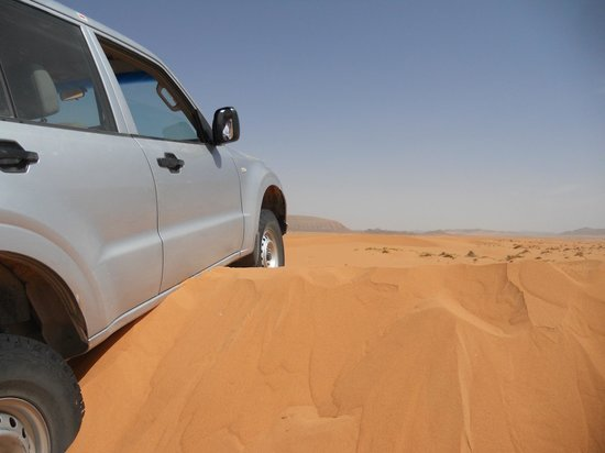 Riad Nezha : dunes