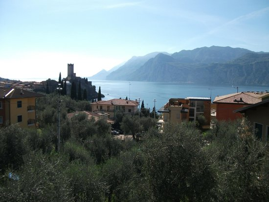 Hotel Garni Ischia: View from room