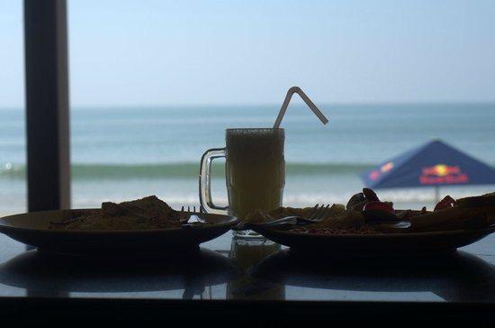 Palolem Beach: Breakfast at Cocktails and Dreams