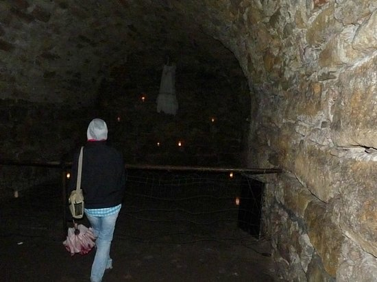 Pidhirtsi Castle: The vaults downstairs