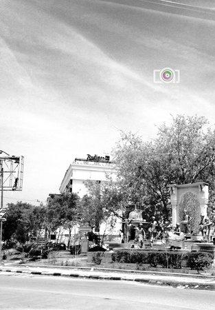 Radisson Blu Jaipur: RADISSON outer view