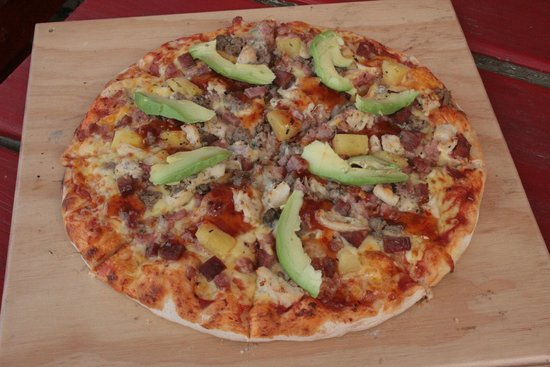Pico's Restaurant Plettenberg Bay: Over 20 toppings to choose from