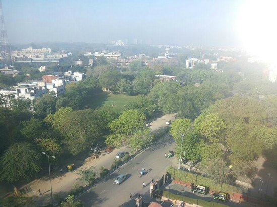 The Suryaa : awesome view from  my room