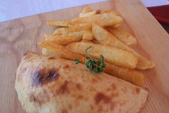 Pico's Restaurant Plettenberg Bay: Pizza Pockets with your choice of fresh ingredients