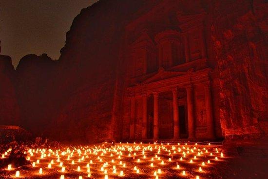 Petra By Night : Treasury