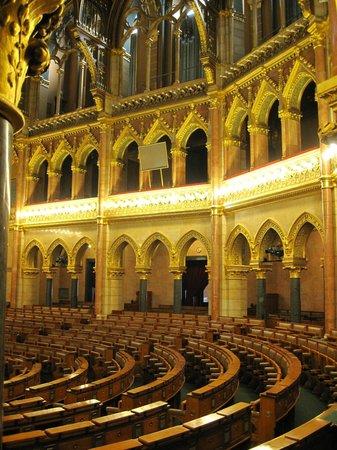 Interno Foto Di Parlamento Orszaghaz Budapest