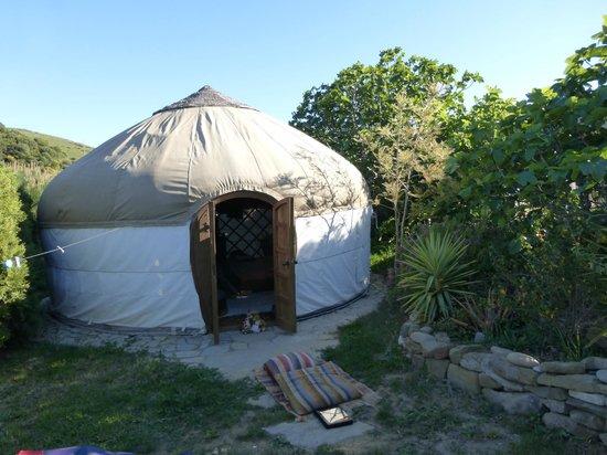 Yurts Tarifa: our oasis