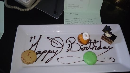 The Westbury: birthday treat!