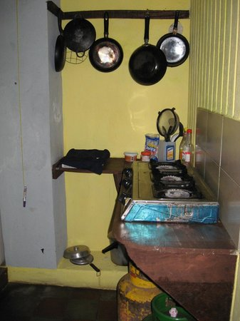 Hostal El Momento: Kitchen