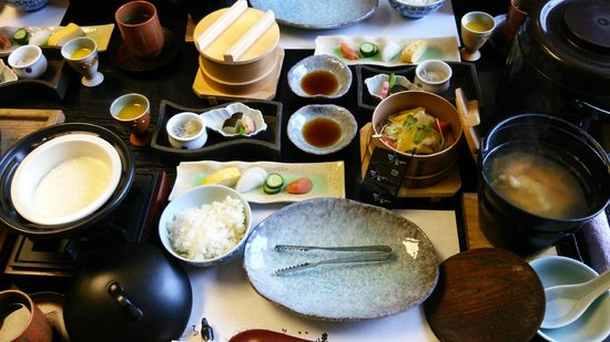 Kawana Inn: 朝食