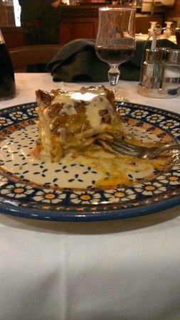 Trattoria Marione: lasagna