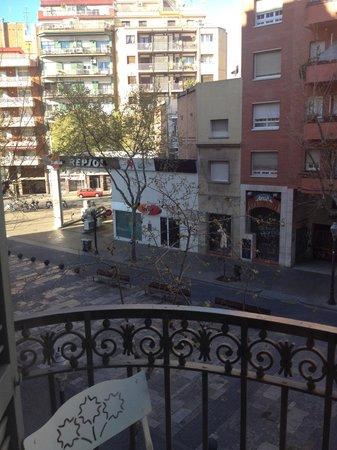 Gaudi Sagrada Familia: Near a petrol station and convenient store