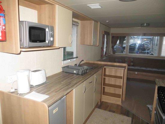 Kiln Park Holiday Centre - Haven: inside our caravan