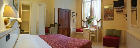 Hotel Casci: one of our rooms