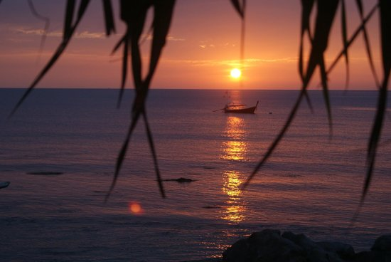 MOONLIGHT Exotic Bay Resort: Abendstimmung