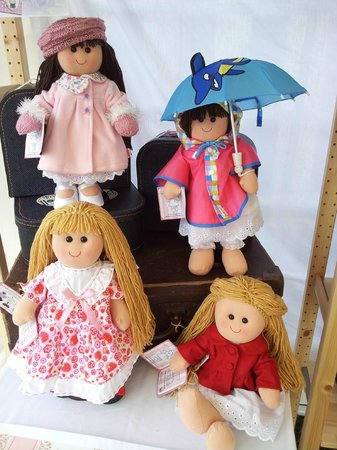 Lutterworth, UK: Dress-A-Doll Rag Dolls - Spring Summer Autumn Winter