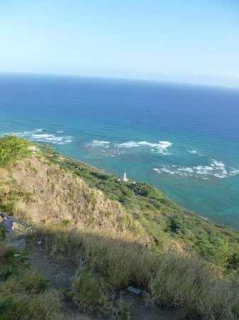 Diamond Head : Lighthouse from Observation Station