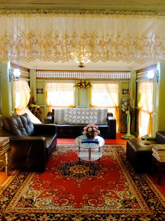 Villa Sentosa (Malay Living Museum): レトロなリビング