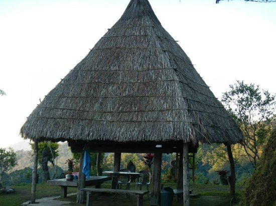 Hiwang Native House Inn : our very native ifugao hut house