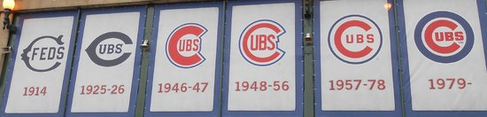 Wrigley Field : Cubs Banners